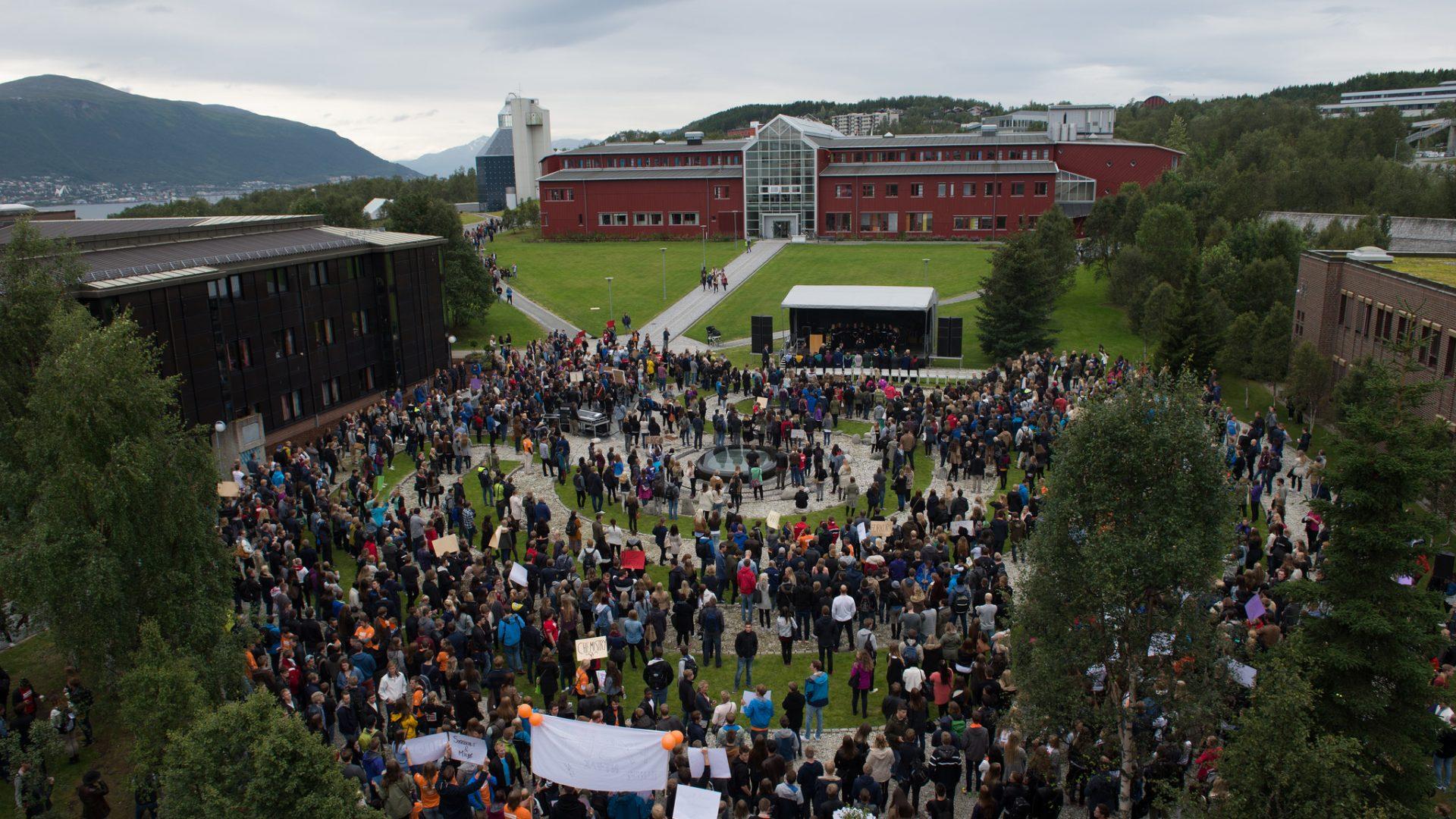 Universitetsområdet i Tromsø