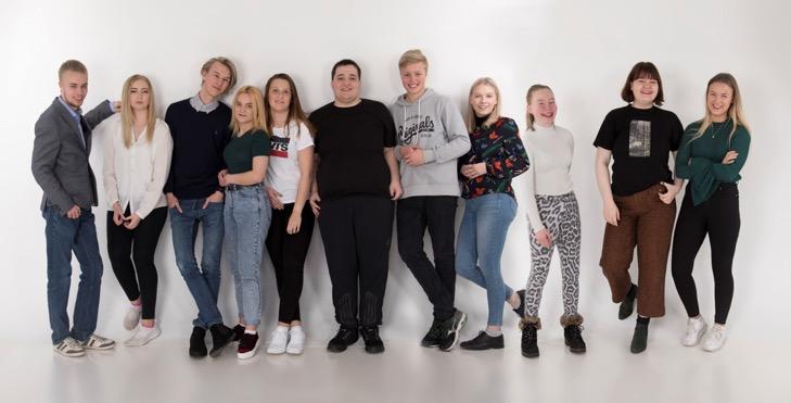 Foto av Ungdomsrådet ved Nordlandssykehuset.