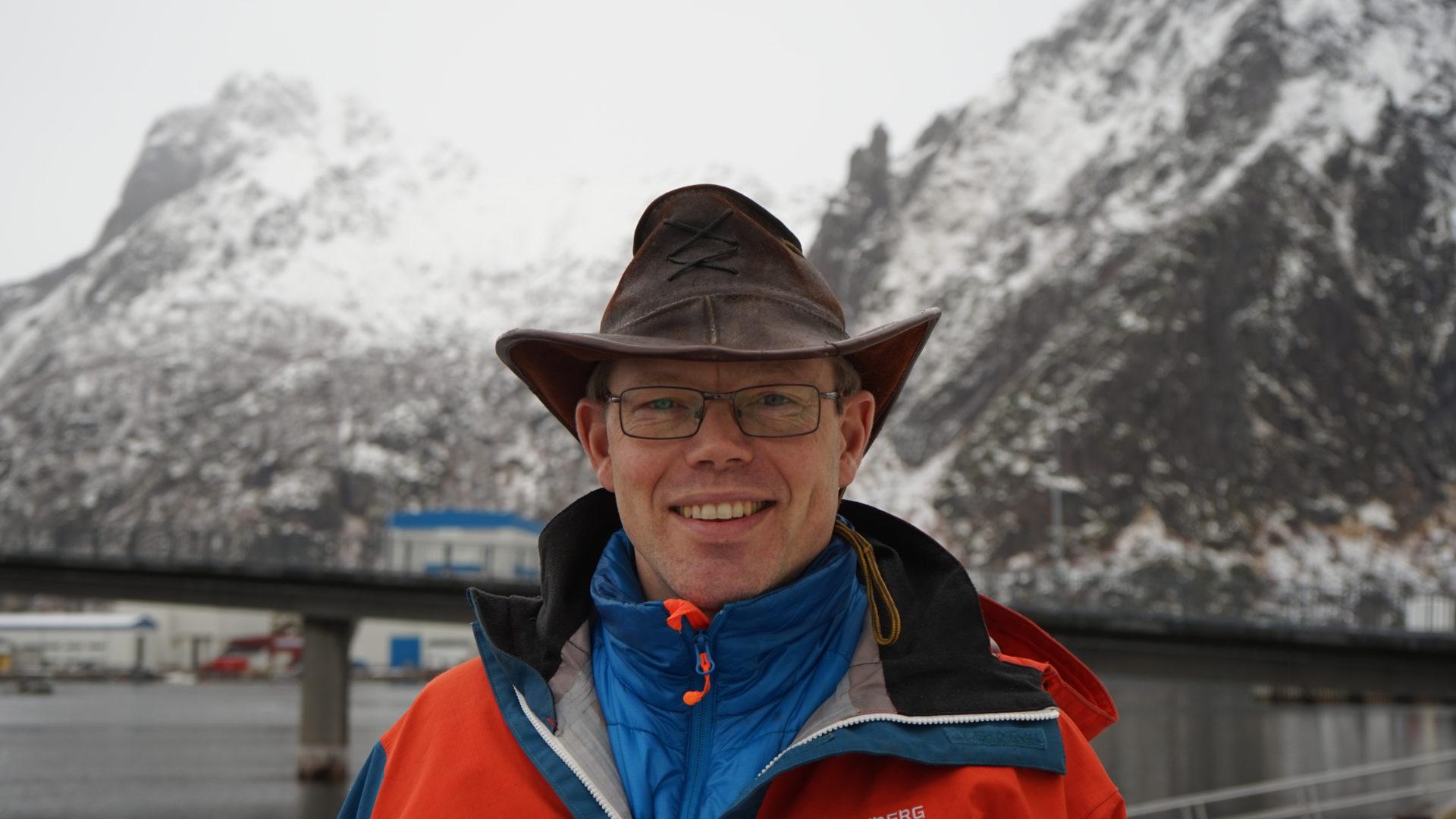 Paul Olav Rosbø, leder av Finnmark legeforening.